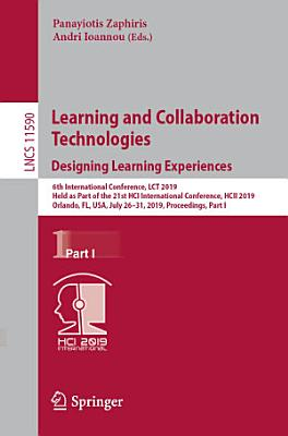 Learning and Collaboration Technologies  Designing Learning Experiences