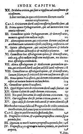 De crisibus: libri III.