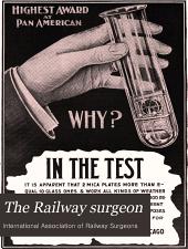 The Railway Surgeon: Volume 8, Issue 11