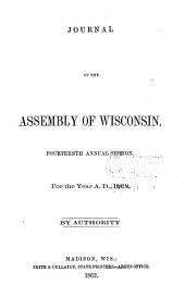Journal of the Assembly of Wisconsin: Volume 1