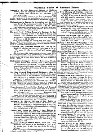 Willis s Price Current of Literature and Monthly Book Advertiser