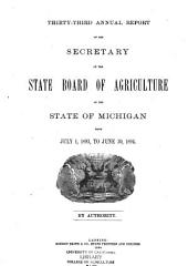 Annual Report of the Agricultural Experiment Station, Michigan State University: Volume 7