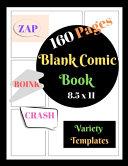Blank Comic Book Blank Comic Book Zap Boink Crash Variety Template PDF