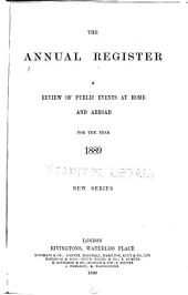 The Annual Register of World Events: A Review of the Year, Volume 131