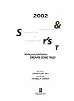 2002 Novel and Short Story Writer s Market PDF
