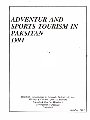 Adventure   Sports Tourism in Pakistan PDF