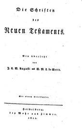 Die Schriften des A. u. des N. Testaments: Band 6