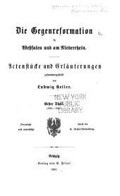 Publicationen aus den Preussischen staatsarchiven ...: Band 9