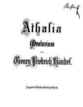 Georg Friedrich Händel's Werke: Athalia : Oratorium. 5