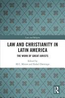 Law and Christianity in Latin America PDF