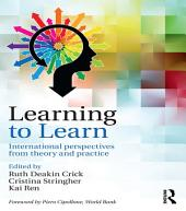 Learning to Learn: International perspectives from theory and practice