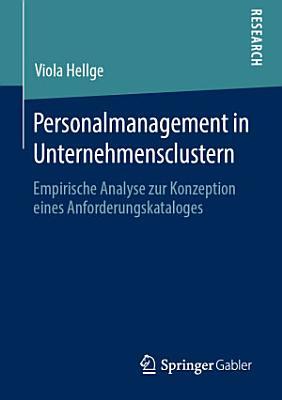 Personalmanagement in Unternehmensclustern PDF