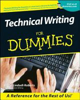Technical Writing For Dummies PDF