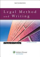Legal Method and Writing PDF