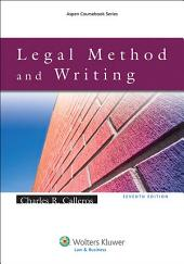 Legal Method and Writing: Edition 7