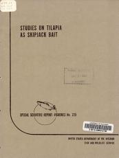 Studies on Tilapia as Skipjack Bait PDF