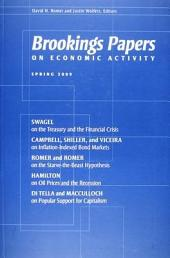 Brookings Papers on Economic Activity: Spring 2009: Spring 2009