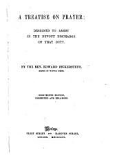 A treatise on prayer ... Seventeenth edition, corrected and enlarged