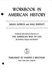 Workbook in American History PDF