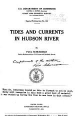 Tides and Currents in Hudson River,