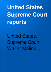 United States Supreme Court Reports: Volumes 54-57
