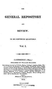 The General Repository and Review: Volume 1