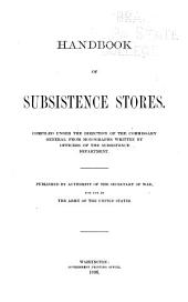 Handbook of Subsistance Store