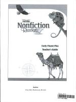 15333:TFK: NonFiction Readers:Early Fluent Plus:Teacher's Resource Guide