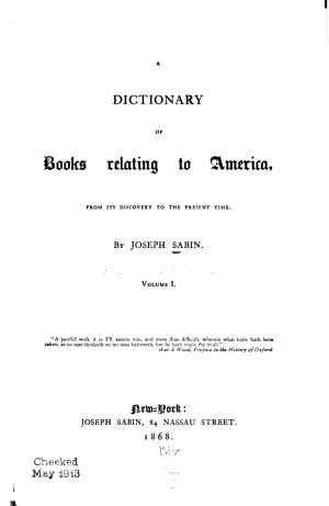 Bibliotheca Americana