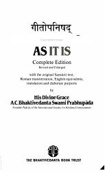 As It Is Book PDF