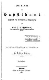 Geschichte des Papsttums waehrend des vierzehnten Jahrhunderts: Band 2