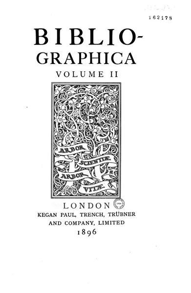 Download Bibliographica Book