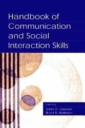 Handbook Of Communication And Social Interaction Skills PDF