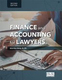 Finance and Accounting for Lawyers  Second Edition PDF