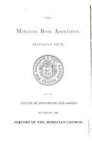 Memorials of the Moravian Church PDF