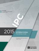 International Plumbing Code 2015