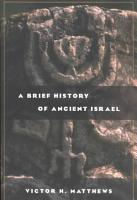A Brief History of Ancient Israel PDF