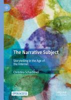 The Narrative Subject PDF