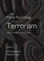 The Moral Psychology of Terrorism PDF