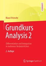 Grundkurs Analysis 2 PDF