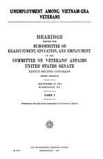 Unemployment Among Vietnam era Veterans PDF