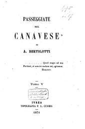 Passeggiate nel Canavese: Volume 5