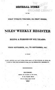 Niles  Weekly Register PDF