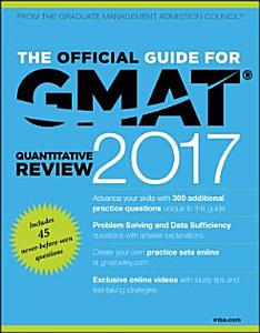 The Official Guide for GMAT Quantitative Review 2017 with Online Question Bank and Exclusive Video Book