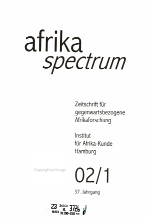 Afrika Spectrum PDF