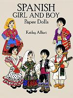 Spanish Girl and Boy Paper Dolls PDF
