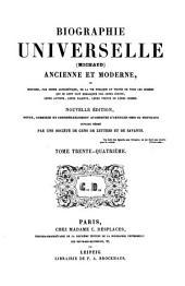 Biographie universelle, ancienne et moderne, ouvrage rédigé par une société de gens de lettres. Michaud, [and E. Desplaces].