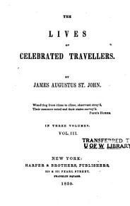 The Lives of Celebrated Travellers PDF