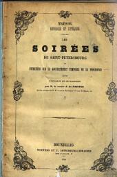 Les soirées de Saint-Pétersbourg ou entretiens sur la gouvernement temporel de la providence suivies d'un Traité sur les sacrifices : Volume2