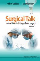 Surgical Talk PDF